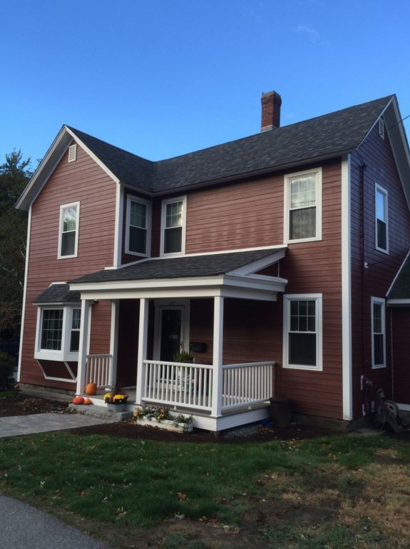 Red House James Hardie Siding