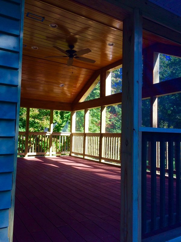 Wooded Deck