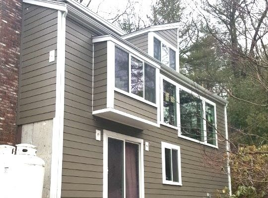 Winchester MA House New Siding